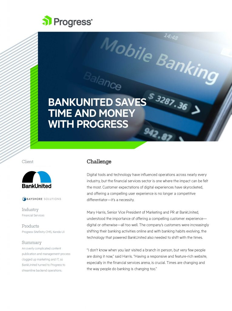 Bank United Case Study