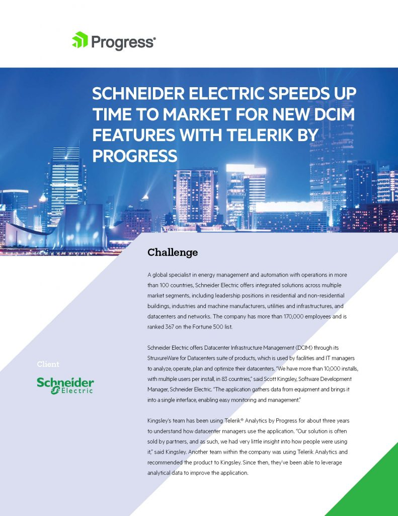 Schneider Electric Case Study