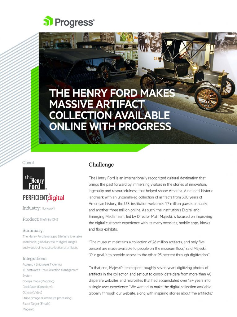 The Henry Ford Case Study