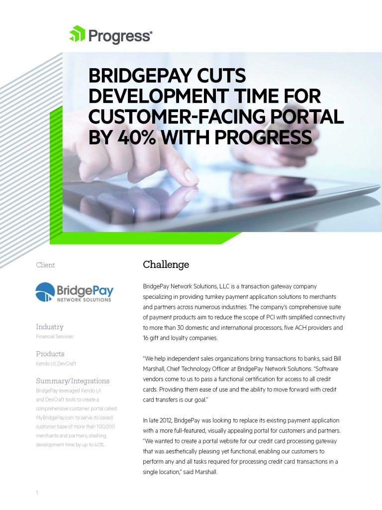 Bridgepay Case Study